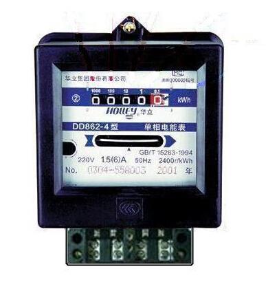 家用电表如何看度数的知识